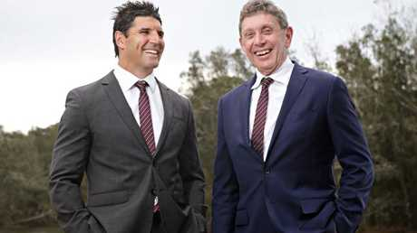 Coach Trent Barrett and CEO Lyall Gorman would clearly love Pearce at Manly.