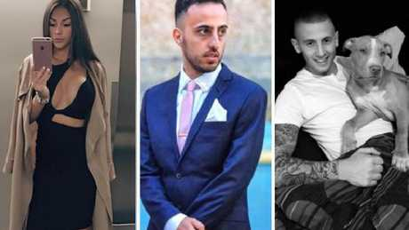 Ada Onur (centre) is facing drug trafficking charges along with co-accused Chris Duspara (right). Onur's girlfriend Joanna Hill (left) is Insta-famous
