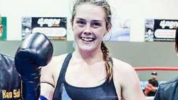 Jessica Lindsay, Perth Muay Thai fighting teenager who died. Picture: Facebook