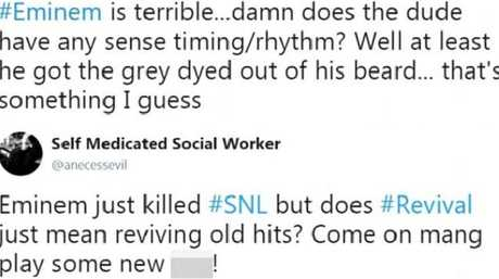 SNL viewers were not impressed. Picture: Twitter
