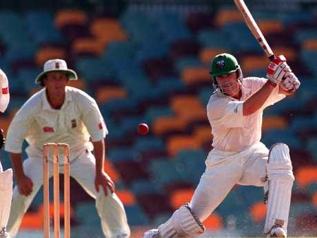 Michael Slater was an aggressive opening batsman.