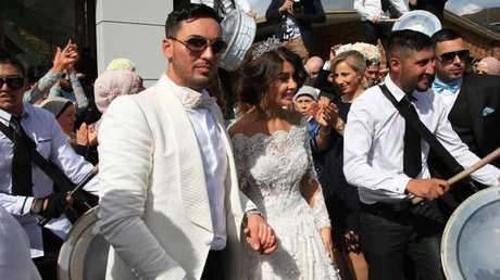Salim Mehajer married Aysha Learmonth in August 2015 in the so-called 'wedding of the century'. Picture: Toby Zerna