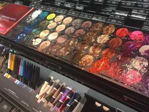 $1600 makeup destroyed by young child's glittery rampage