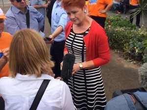 Pauline Hanson in Ipswich