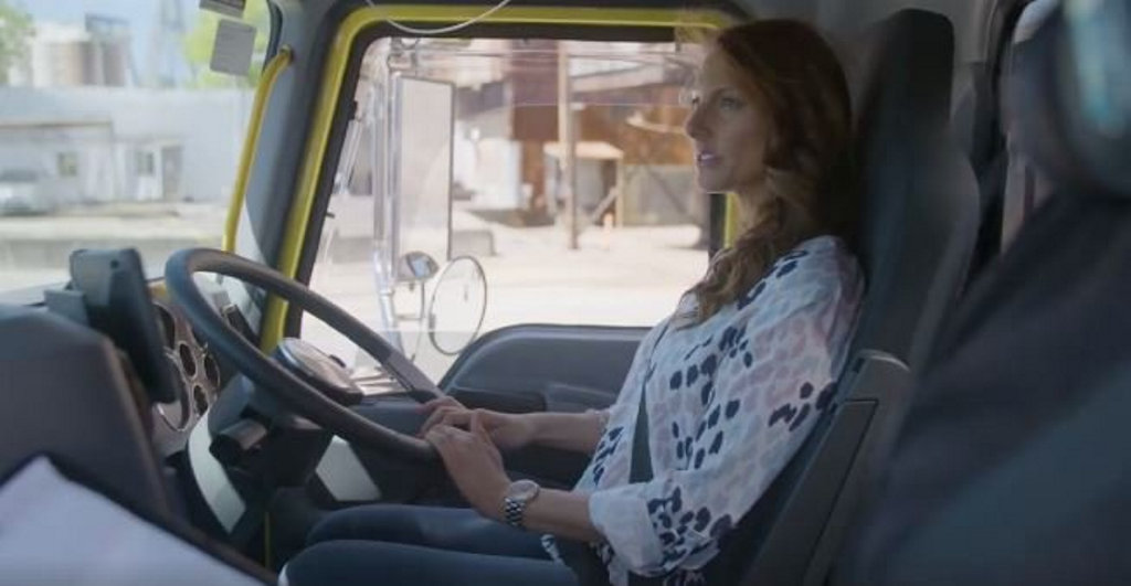 One of the drivers in a video uploaded by the NSW Road Safety - NSW GOV