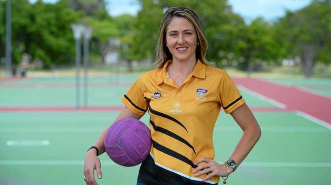 NEW CHALLENGE: Rockhampton's Zoe Seibold is looking forward to taking the reins as coach at the Capricorn Claws.