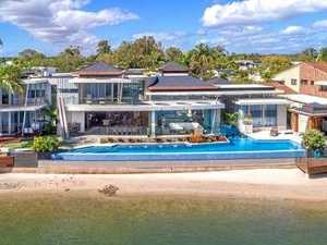 LIFE OF LUXURY: Lavish waterfront mansion smashes records