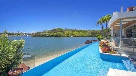 life of luxury lavish waterfront mansion smashes records sunshine rh sunshinecoastdaily com au