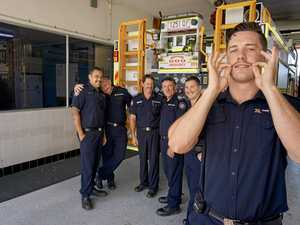 Bundy firefighters become mo bros for men's health
