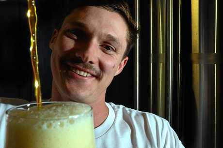 Matt Jancauskas of Brouhaha brewery in Maleny will have some new brews at the weekend's beer and cider fest.