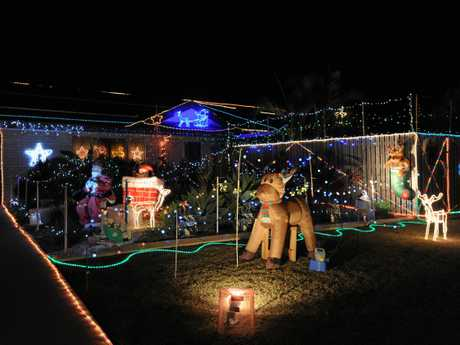 Light Up The City - best neighbourhood winner. 14 Lakeridge Drive, Dundowran.