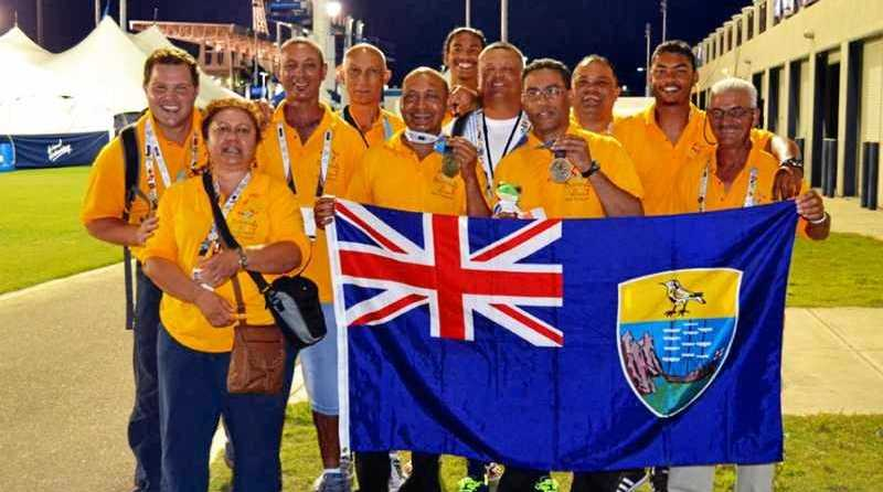ENTHUSIASTIC: A small team from St Helena will train on the Sunshine Coast.