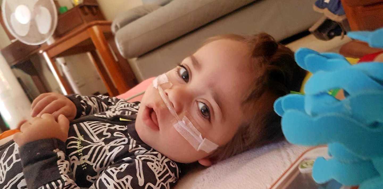 FUNDRAISER: Malakhai Riley, who has the incurable Niemann-Pick Type A disease.