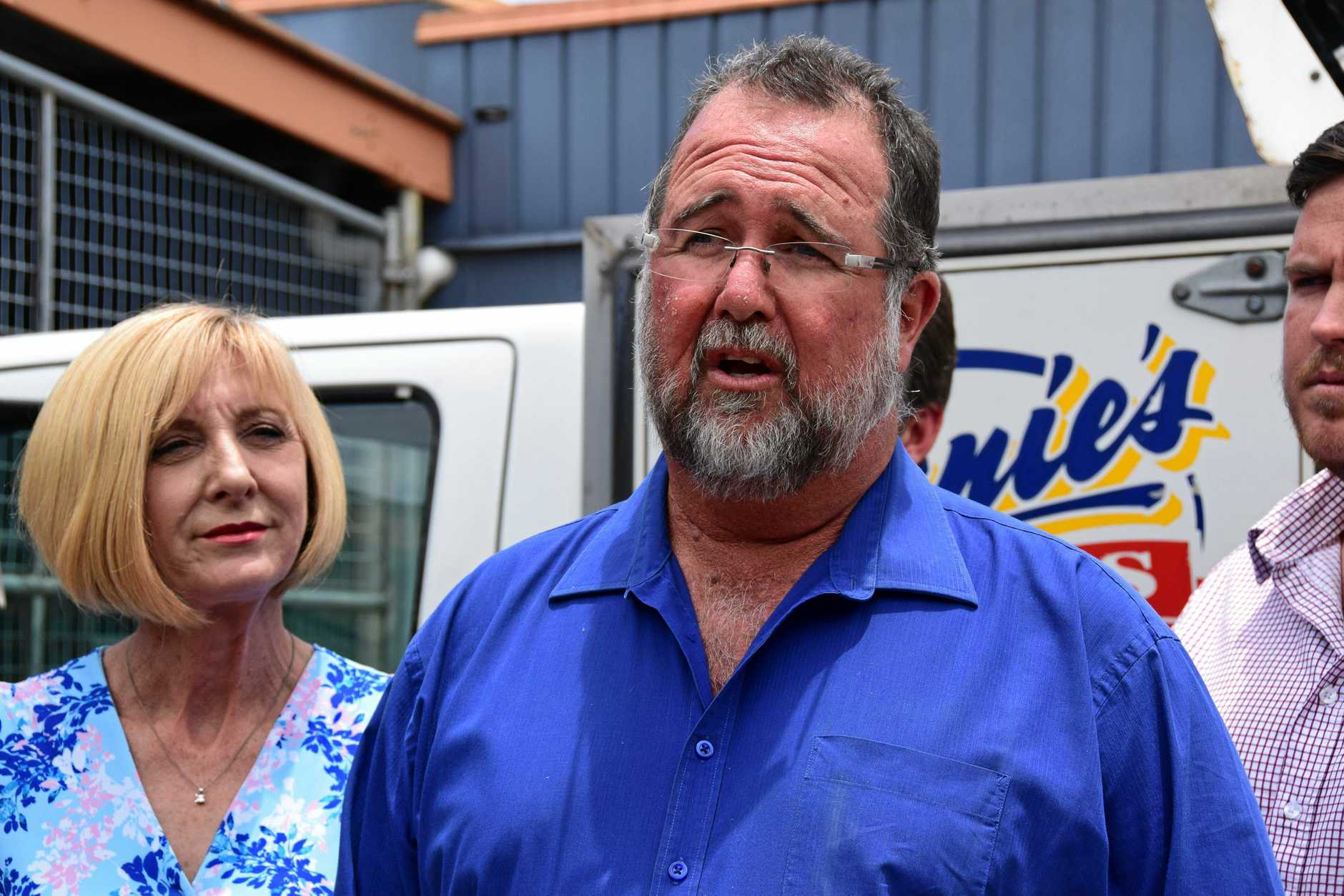 LNP Keppell candidate Peter Blundell.