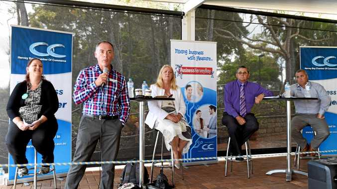 PUBLIC FORUM: The Hervey Bay Chamber of Commerce's first Meet the Candidates forum for Hervey Bay's candidates at Aquavue.