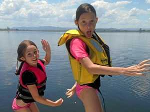 """DAY OUT: We asked readers on Facebook to show us what they love on the Sunshine Coast, and Jenna Badenhope submitted this photo. """"My girls love to pose for the camera!"""""""