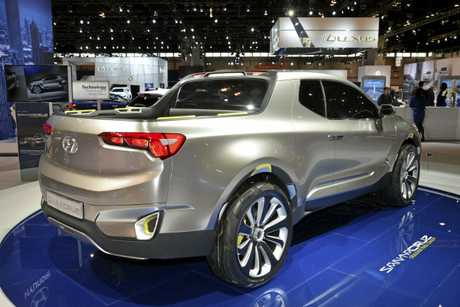 The Hyundai Santa Cruz concept is expected to spawn a new ute for the Australian market.