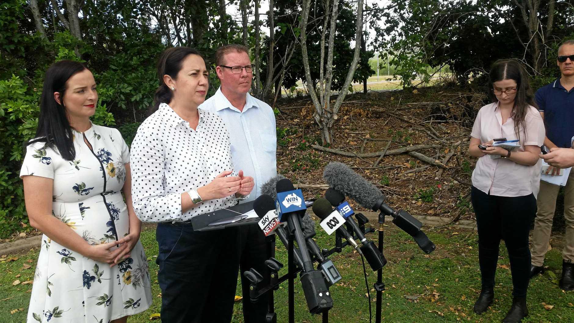 PREMIER VISIT: Queensland's Premier Annastacia Palaszczuk has has paid Rockhampton her second visit of the election campaign.