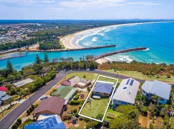 PRIME SPOT: 95 Ocean Dr at Evans Head sold for $1.32m.