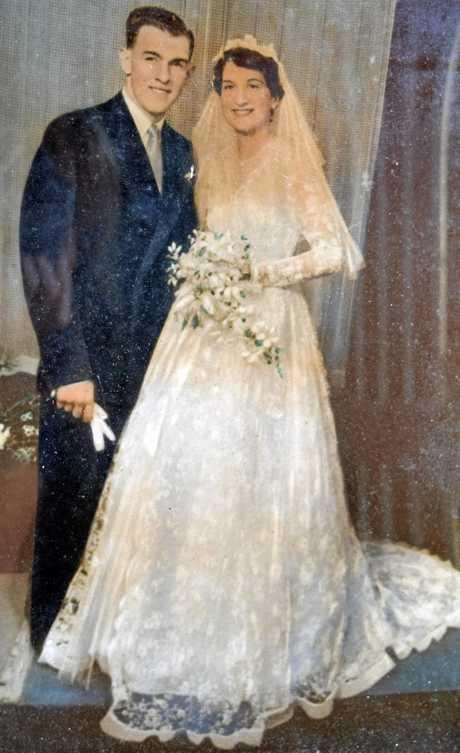 Richard Powell, 81, Margaret Powell, 79 of Coraki celebarte their 60th wedding anniversary.