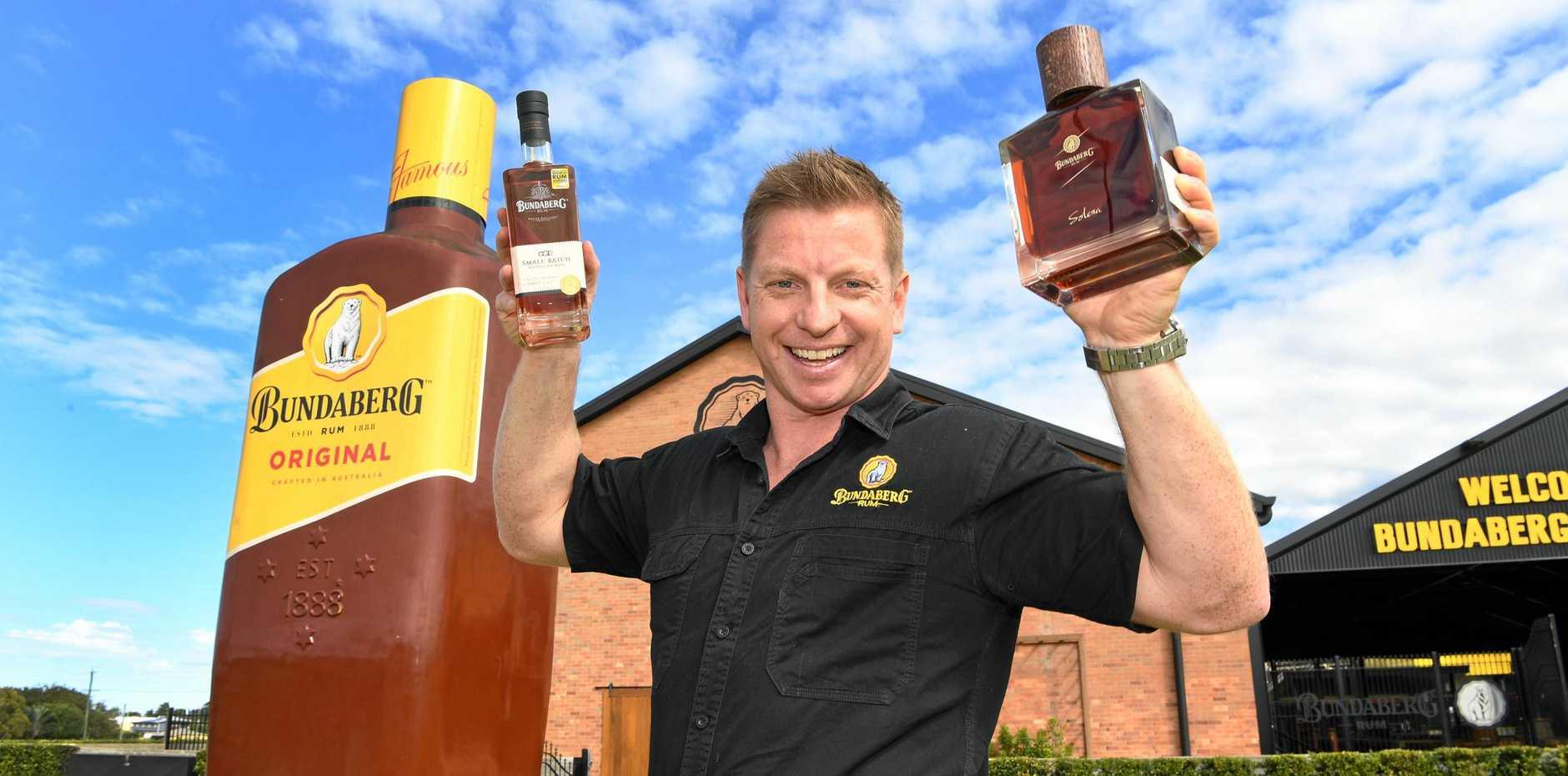 Bundaberg Rum senior brand manager Duncan Littler.