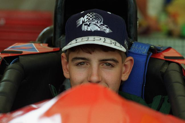 Kelly began racing Formula Ford as a 16-year-old in 1996.