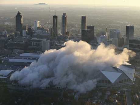 The cityscape. (Curtis Compton/Atlanta Journal-Constitution via AP)