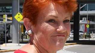 Bundamba MP Jo-Ann Miller.Senator Pauline Hanson.