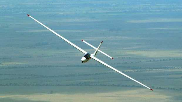 The man died in the glider crash during a competition in New Zealand. Picture: Stock image
