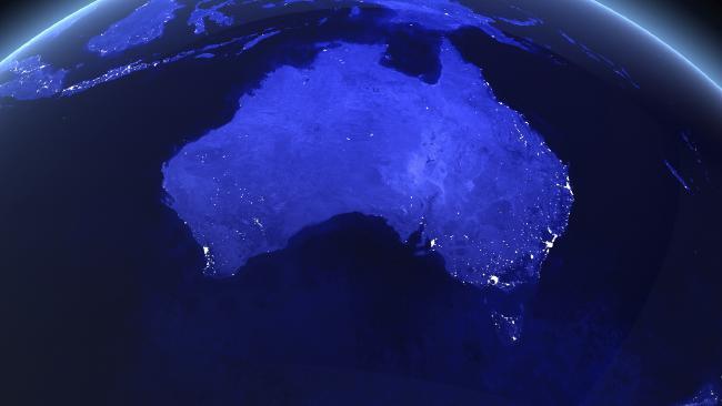 Australia is facing a major mental health crisis. Picture: NASA imagery