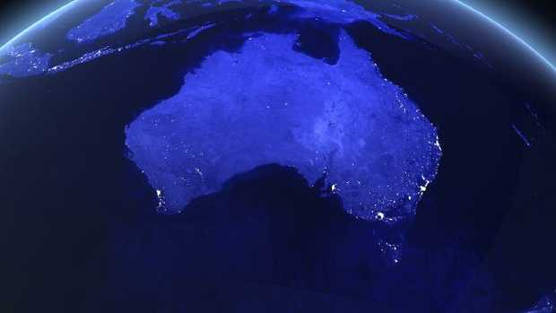 Australia is facing a major mental health crisis. Picture: NASA imagery