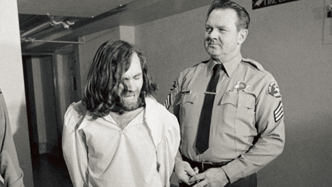 Charles Manson, pictured 1971.