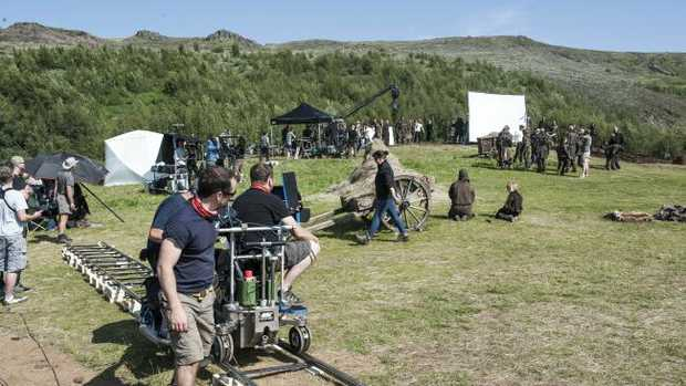 A cameraman who previously worked on Game of Thrones has died, filming a stunt for the BBC.