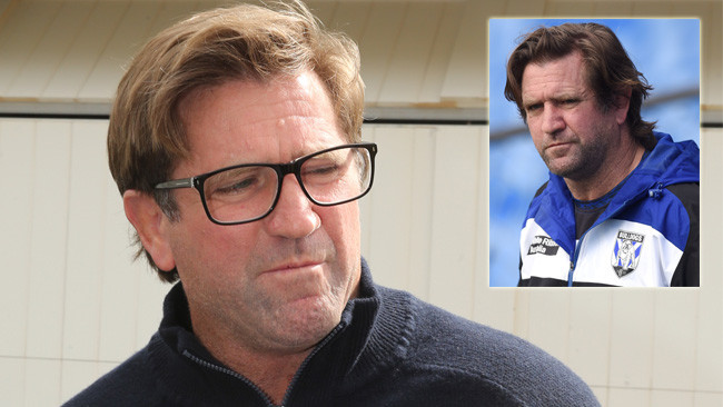 Des Hasler is seeking more than $2 million from the Bulldogs.