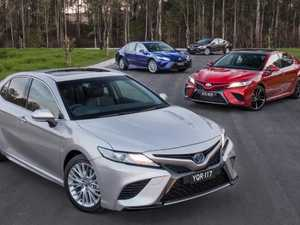 The new Toyota Camry has arrived.
