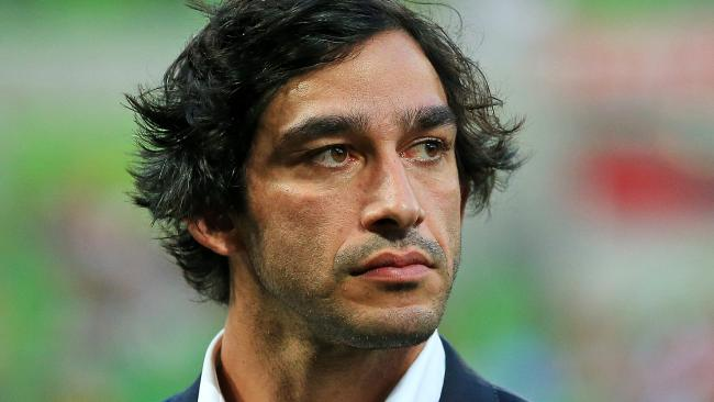 Johnathan Thurston at the World Cup opener.