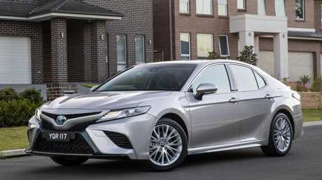 Will the new Toyota Camry continue to be a popular choice in Aussie driveways? Picture: Supplied.