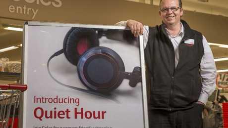 Coles Ringwood store manager Stuart. Picture: Daniel Pockett
