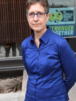 ACTU president Sally McManus.
