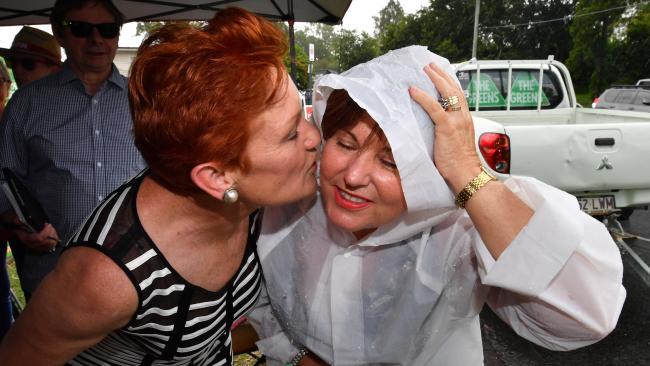 Senator Pauline Hanson and Bundamba MP Jo-Ann Miller this week.