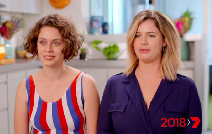 Two new contestants set to make their debut on My Kitchen Rules in 2018.