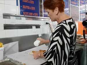 Pauline Hanson visits Hervey Bay