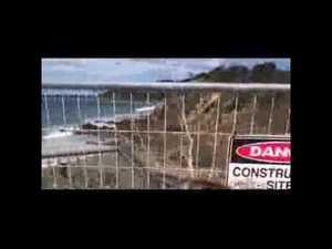 Man falls 10m down a cliff