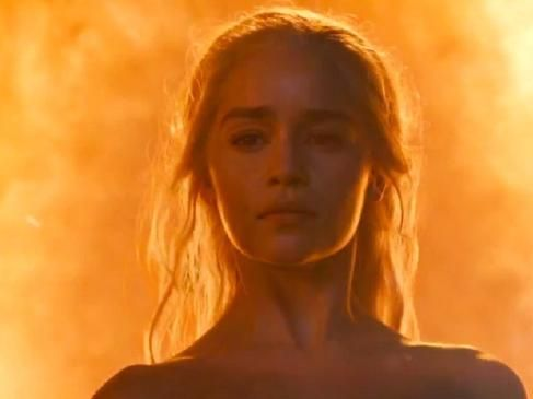 Emilia Clarke has defended the frequent nudity and sex scenes featured in Game of Thrones.
