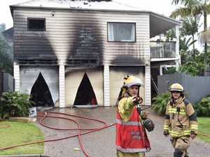 Coast home destroyed in intense blaze
