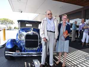 Bruce Secombe turns 100