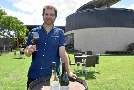 Hungerford Hill senior winemaker and general manager Bryan Currie.