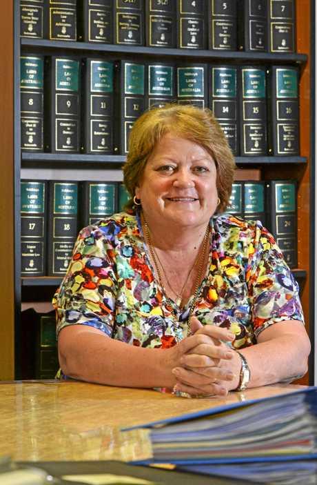 Anne Egan in her Murwillumbah Office.  Photo: Blainey Woodham / Daily News