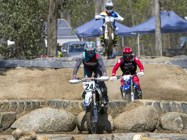 FULL THROTTLE: The Keppel Coast Dirt Bike Club's Freight Solutions Yeppoon Enduro-X is in the running for Motorcycling Queensland's Event of the Year.