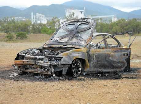 ABLAZE: Emergency services arrived to find a burnt out vehicle near Birkbeck Dr, Parkhurst.